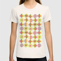 X Marks the Spot Womens Fitted Tee Natural SMALL