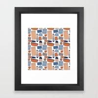 Pattern Project #39 / St… Framed Art Print