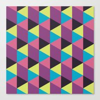 Prisma Shadows Canvas Print