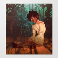The Thousand Window Gard… Canvas Print