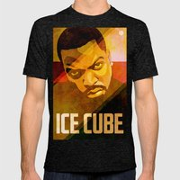 Ice Cube Mens Fitted Tee Tri-Black SMALL