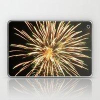 Up-close Fireworks Laptop & iPad Skin