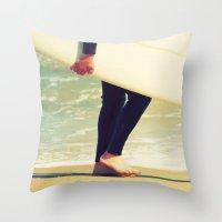 Surfer Rosa Throw Pillow