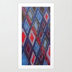 Draper Paper Art Print