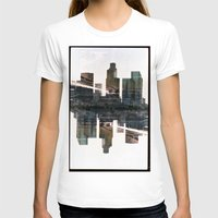 Landscapes c3 (35mm Double Exposure) Womens Fitted Tee White SMALL
