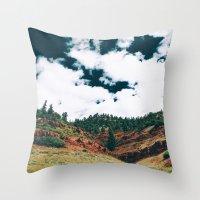 Colorado Valley Throw Pillow