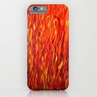iPhone & iPod Case featuring Flames/abstract by maggs326