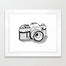 AE-1 Framed Art Print