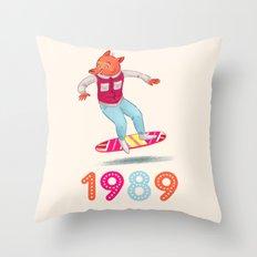 1989 Throw Pillow
