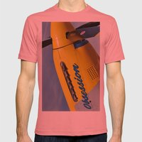 P51 Obsession Mens Fitted Tee Pomegranate SMALL