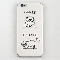 Inhale Exhale English Bu… iPhone & iPod Skin