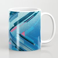 Geometric - Collage Love Mug