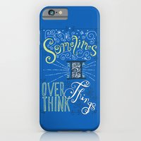 Overthinking iPhone 6 Slim Case