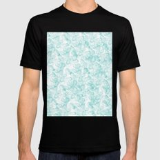 Abstract X Mens Fitted Tee Black SMALL