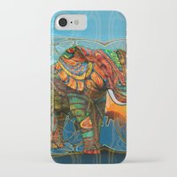 elephants iPhone & iPod Cases featuring Elephant's Dream by Waelad Akadan