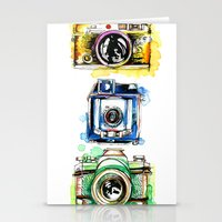 Vintage Cameras Stationery Cards