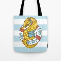 Seaquestrian Tote Bag