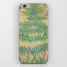 fern 018 iPhone & iPod Skin