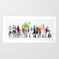 super rockers Art Print