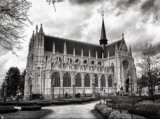 Église Notre-Dame du Sablon Art Print