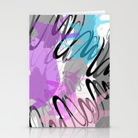 80's Pinata Party Stationery Cards