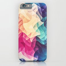 Geometry Triangle Wave Multicolor Mosaic Pattern - (HDR - Low Poly Art) Slim Case iPhone 6s