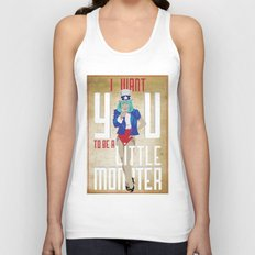 For The Monsters Unisex Tank Top