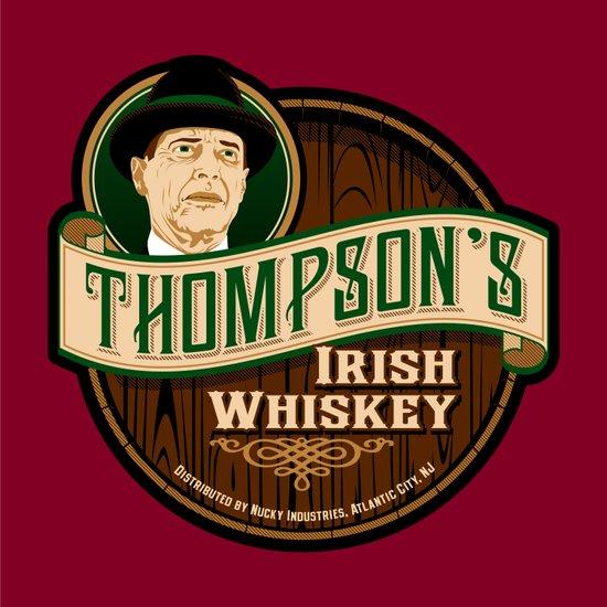 Thompson's Irish Whiskey Art Print