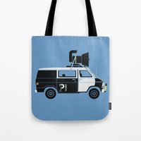 The Blues Brothers' Van Tote Bag
