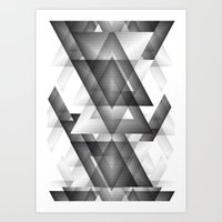 Trianglism Art Print