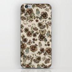 Silvestre pattern iPhone & iPod Skin