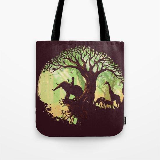 The jungle says hello Tote Bag