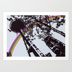 This city needs sun! Art Print