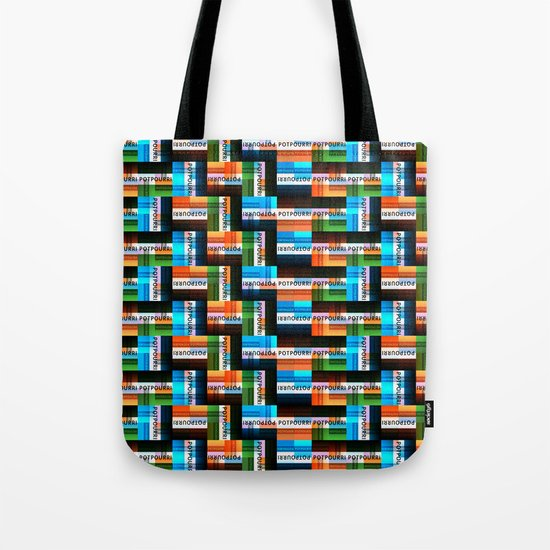 Potpourri Pattern 2 Tote Bag