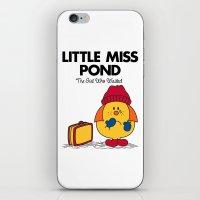 Little Miss Pond iPhone & iPod Skin