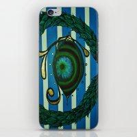 Eye, Greek Olive iPhone & iPod Skin