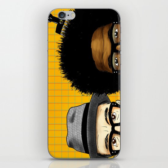"""Wise Up Ghost"" by Dmitri Jackson iPhone & iPod Skin"