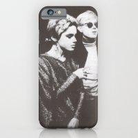 iPhone & iPod Case featuring Andy Warhol & Edie Sedgwick by SophiaRoe