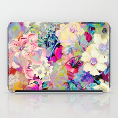 summery floral iPad Case