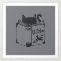 To Kill a Mockingbird Art Print