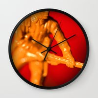 The Desert Rat 2 Wall Clock