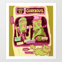 Locals Only : Guayaquil Art Print