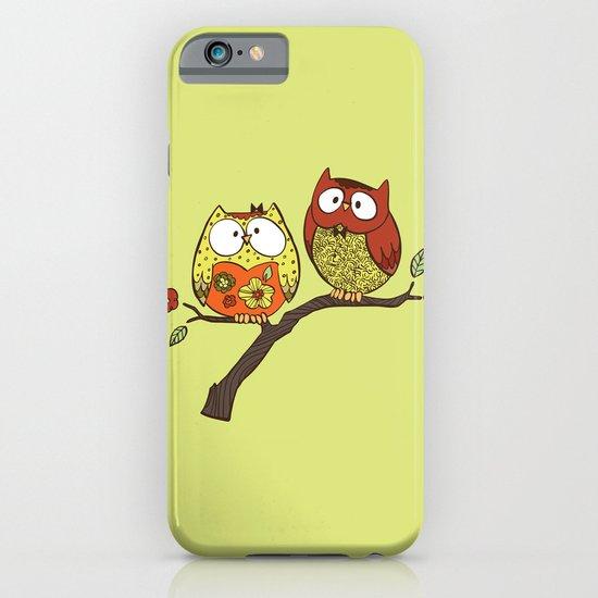 Decorative Owls iPhone & iPod Case