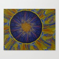 Marble World 2 Canvas Print
