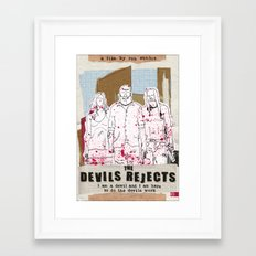Devil's Rejects - Halloween special Framed Art Print