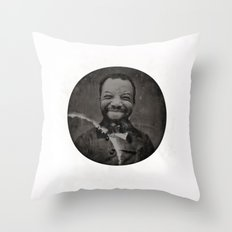 Baronial Indigene No. 2: Chuck Throw Pillow