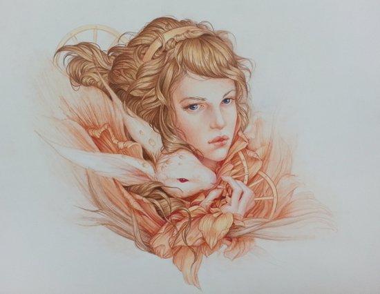 Wile Art Print