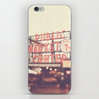 6:20. Seattle Pike Place… iPhone & iPod Skin