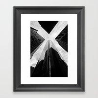Philly X Framed Art Print