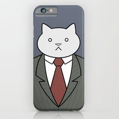 Business Cat iPhone 6 Slim Case